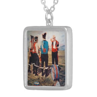 Gaiteros/Gaiteiros/Pipers Silver Plated Necklace