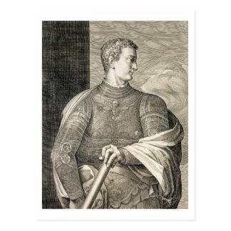 Gaius Caesar 'Caligula' (12-41 AD) Emperor of Rome Postcard