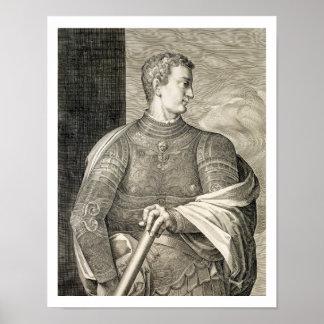 Gaius Caesar 'Caligula' (12-41 AD) Emperor of Rome Poster