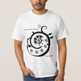 Galactic Butterfly - What comes around goes around Tees