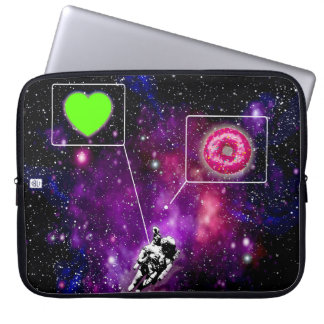 galactic chat laptop sleeve