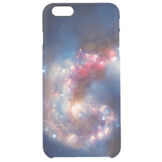 Galactic Collision Uncommon Clearly™ Deflector iPhone 6 Plus Case