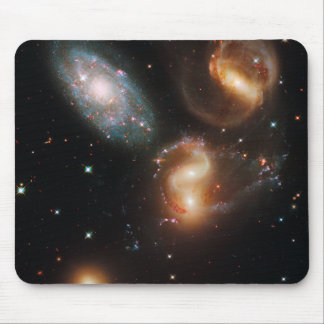 Galactic Collision Mouse Pads