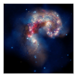 Galactic Collision Print