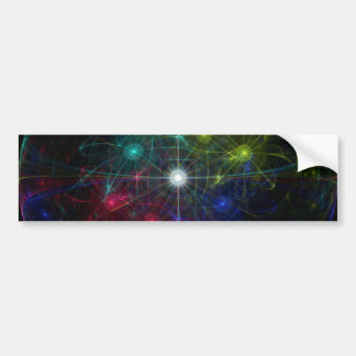 Galactic Coordinates Bumper Sticker