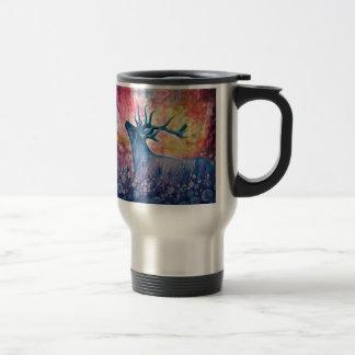 Galactic Elk Painting Mugs