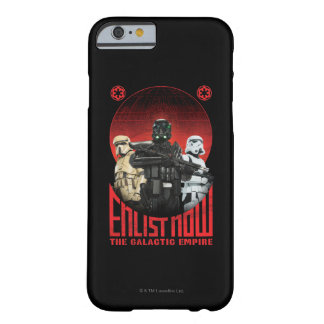 Galactic Empire Enlistment Poster Barely There iPhone 6 Case