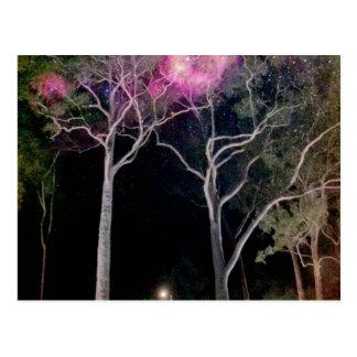 Galactic Gumtrees Postcard