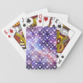 Galactic Hearts and Arrows Playing Cards