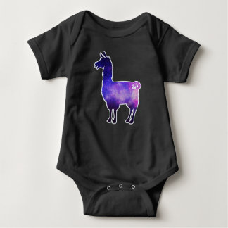 Galactic Llama Baby Bodysuit