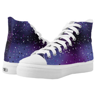 Galactic Love Printed Shoes