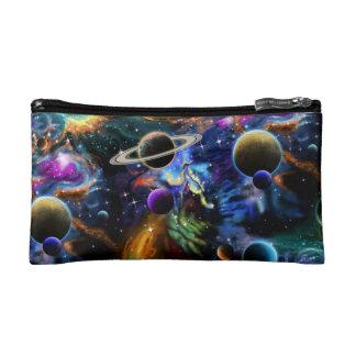 Galactic Nebula and Planets Makeup Bag