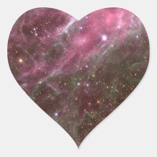 Galactic night sky stickers