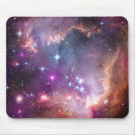 Galactic Outer Space Purple Mouse Pad