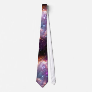 Galactic Outer Space Purple Tie