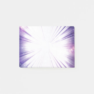 Galactic Purple Post-it Notes