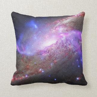 Galactic Pyrotechnics Astronomy Pillow