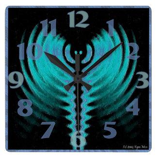 Galactic Square Clock