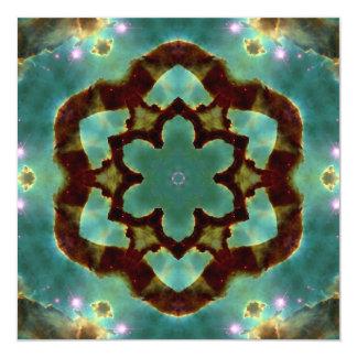Galactic Star card 13 Cm X 13 Cm Square Invitation Card