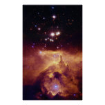 Galactic Star Cluster NGC 6357 Posters