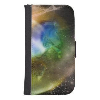 Galactic Unicorn Samsung S4 Wallet Case