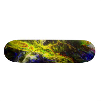 Galactic Vapors 20.6 Cm Skateboard Deck