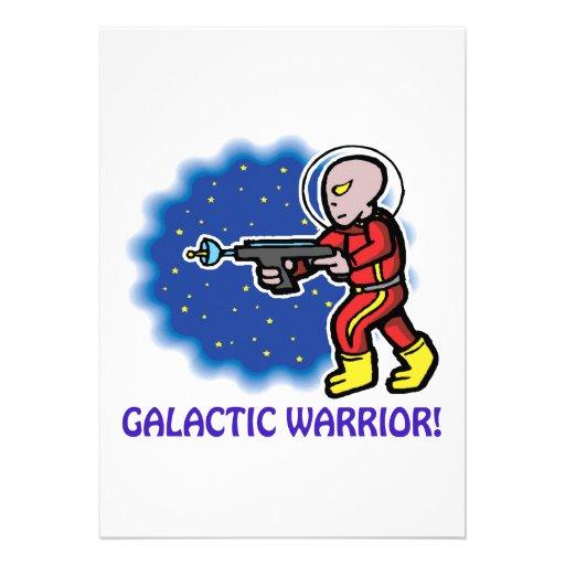 Galactic Warrior Custom Announcements
