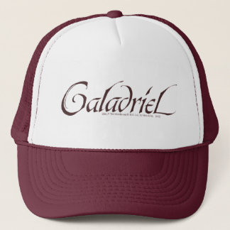 Galadriel Name Solid Trucker Hat