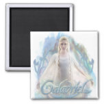 Galadriel With Name Refrigerator Magnet