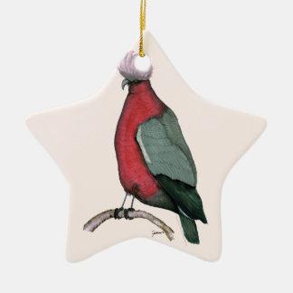 galah cockatoo, tony fernandes christmas ornament