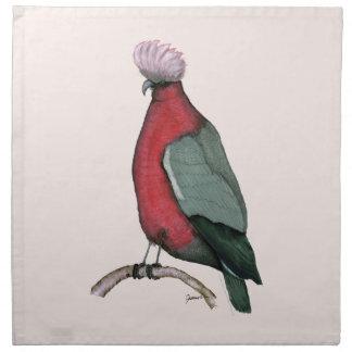 galah cockatoo, tony fernandes napkins