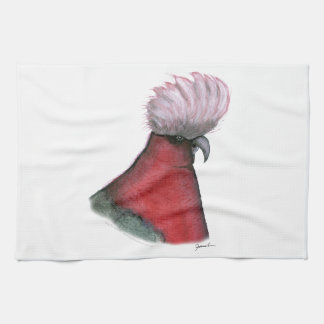 galah cockatoo, tony fernandes tea towel