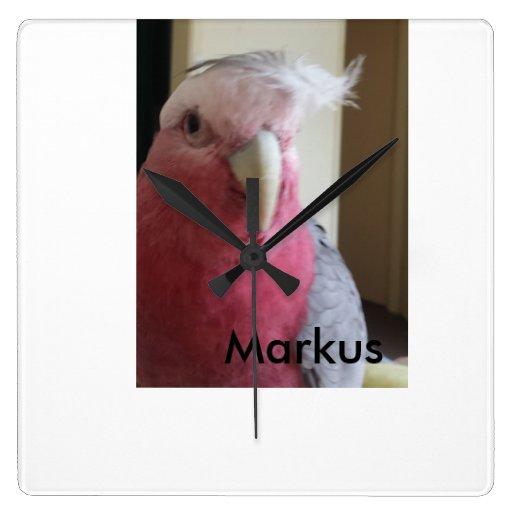 Galah-Markus-wall clock