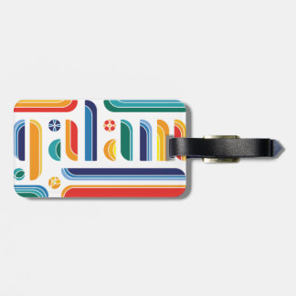galam 2016 - Jeepney Colours Luggage Tag