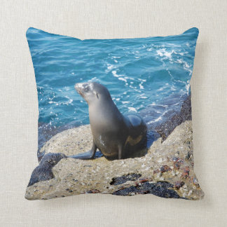 Galapagos Fur Seal Cushion