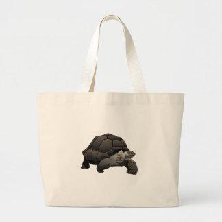 Galápagos/Galapagos Giant Tortoise Large Tote Bag