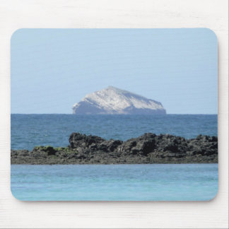 Galapagos Island in the ocean Mouse Mat