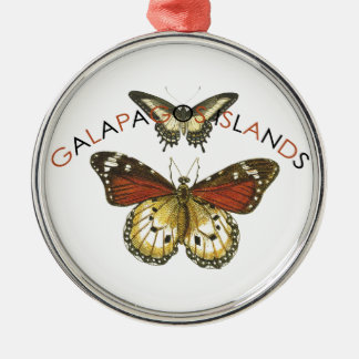 Galapagos Islands Butterfly Christmas Ornament