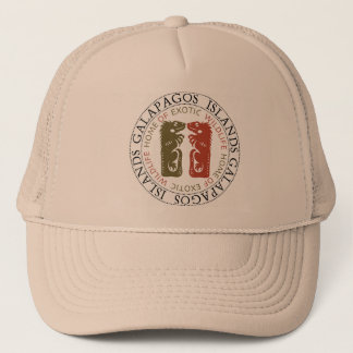 Galapagos Islands Iguanas Trucker Hat