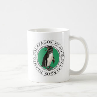 Galapagos Islands Penguin Basic White Mug
