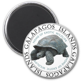 Galapagos Islands Tortoise Magnet