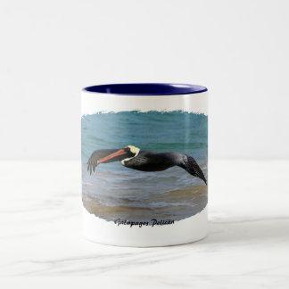 Galapagos Pelican Two-Tone Coffee Mug