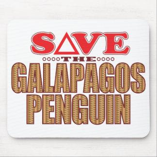 Galapagos Penguin Save Mouse Pad