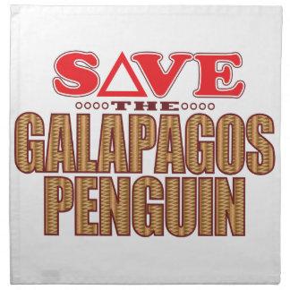 Galapagos Penguin Save Napkin