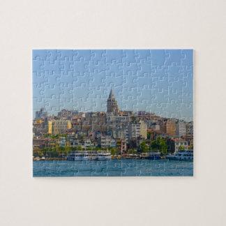 Galata Tower in Istanbul Turkey Jigsaw Puzzle