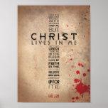 Galatians 2:20 posters