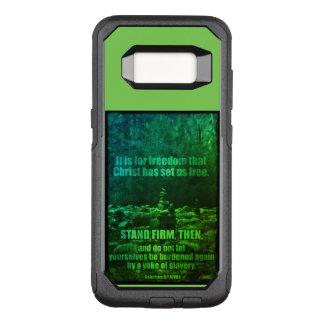 Galatians 5:1 OtterBox Samsung Galaxy S8 Case