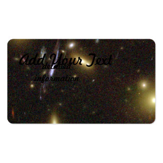 Galaxies Magnified by Galaxy Cluster Pack Of Standard Business Cards