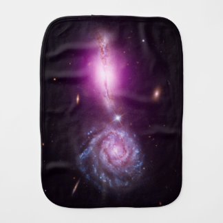 Galaxies On Parade - See Both Sides Burp Cloth