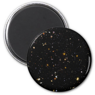 GALAXIES (outer space) ~.jpg 6 Cm Round Magnet